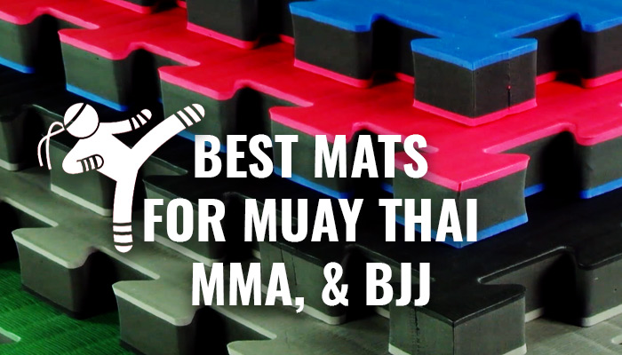 Best Muay Thai, BJJ, and MMA Mats for Your Home Gym 2020