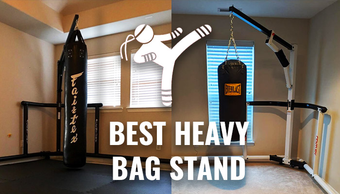 Best Heavy Bag Stands for Muay Thai Kickboxing & MMA 2021
